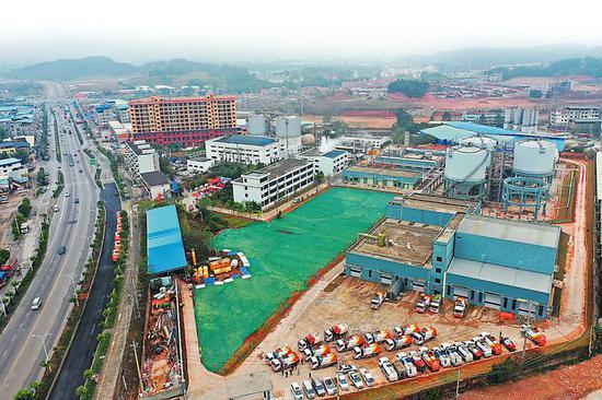 南宁市餐厨废弃物资源化利用和无害化处理厂改扩建项目举行投产启动仪式,二期正式投产