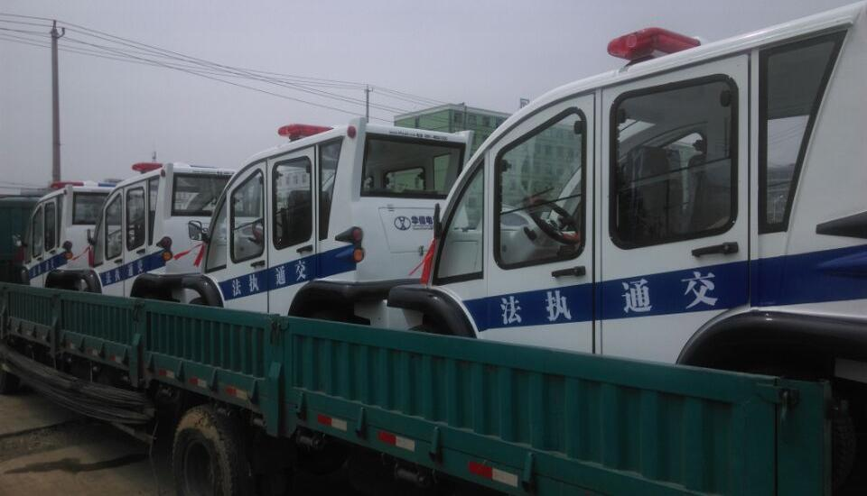 交通执法电动巡逻车