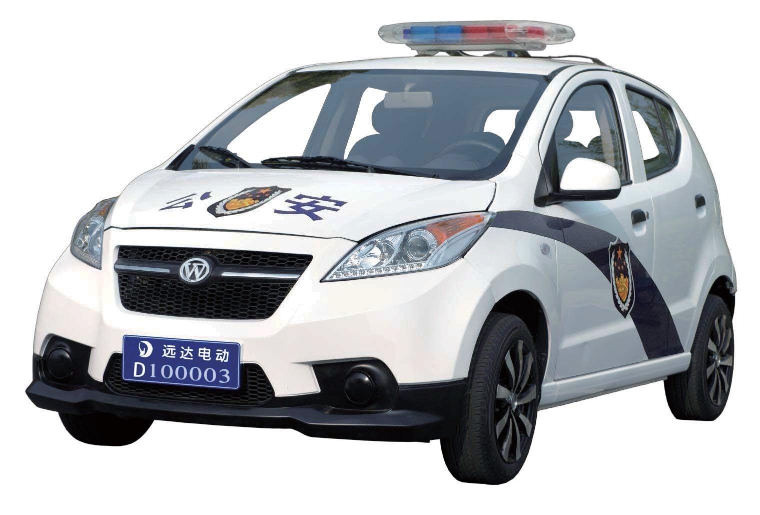 五座轿车式警务巡逻车YD4GG005A1