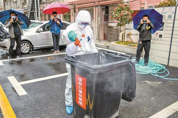 """""""新冠肺炎""""疫情期间我国城市环卫作业量较平时增加一倍以上"""